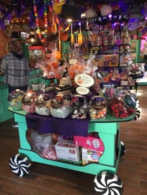 Cart of goodies